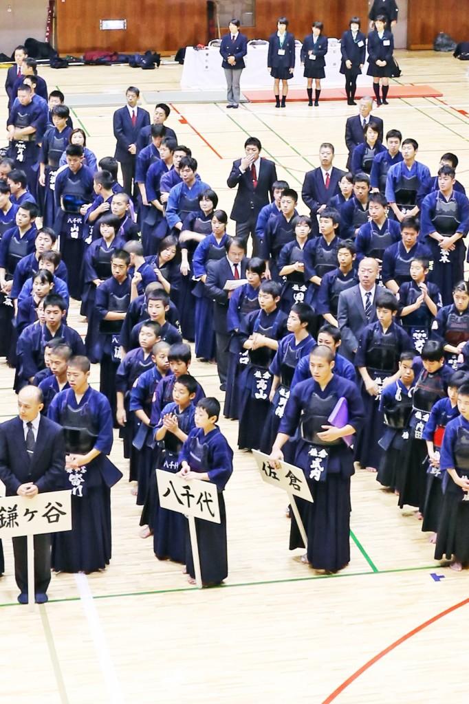 第67回地区連盟対抗剣道優勝大会 選手壮行会