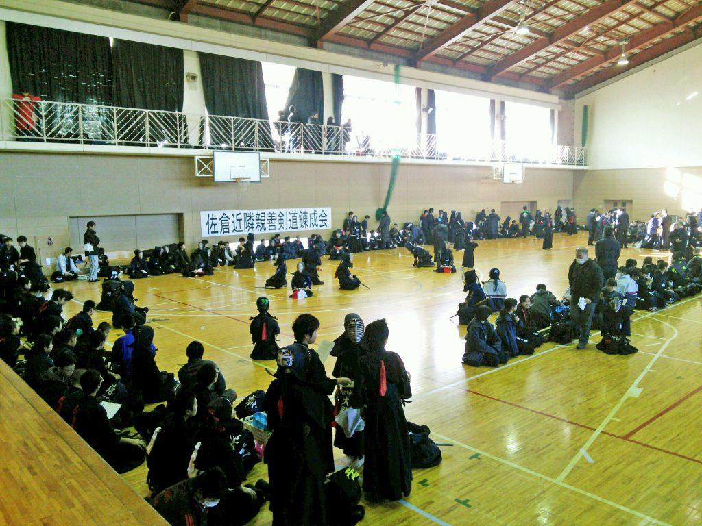 第1回 佐倉近隣親善剣道錬成会が開催されました。